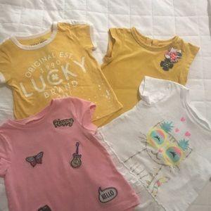 Toddler T-shirt bundle. Size 24mo/2T/3T